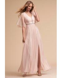 06a90edd4dd1e Lyst - Anthropologie Billiard Dress in Pink