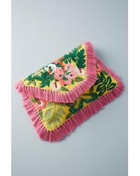 Anthropologie - Bright Tropics Envelope Bag - Lyst