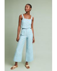 e0f9fb2cf2c2 Mcguire - High-waisted Linen Culottes - Lyst