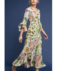 Bl-nk - Ruth Floral Maxi Dress - Lyst