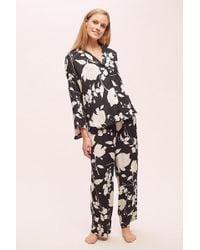 Anthropologie - Floral-print Sleep Trousers - Lyst