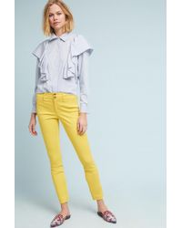 Anthropologie | The Essential Slim Trousers | Lyst