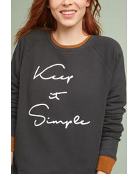 Sol Angeles - Keep It Simple Pullover - Lyst