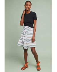 Plenty by Tracy Reese - Linda Striped Skirt - Lyst