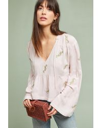 Mcguire - Rosa Tiered Peasant Top - Lyst