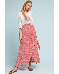Cleobella - Eloise Wrap Maxi Skirt - Lyst