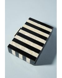 Anthropologie - Piano Lucite Clutch - Lyst