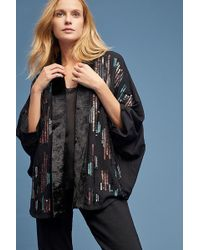 Bl-nk - Jacy Sequin-embellished Kimono - Lyst