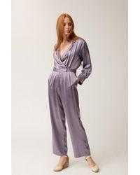 Christine Alcalay - Lavender Jumpsuit - Lyst