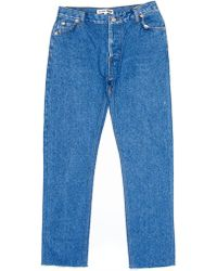 RE/DONE - Relaxed Cropped Jean - Lyst
