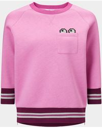 Anya Hindmarch - Diamante Eyes Sweatshirt - Lyst