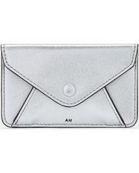 7fe343372 Anya Hindmarch Envelope Purse Sticker in Metallic - Lyst