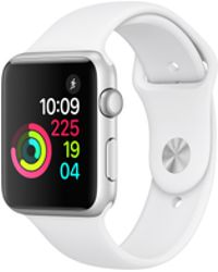 Apple - Watch Series 2, 38mm Stainless Steel Case With White Sport Band - Lyst