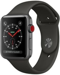 Apple - Watch Series 3 Gps, 42mm Space Grey Aluminum Case With Grey Sport Band - Lyst