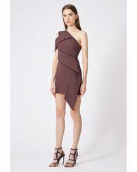 AQ/AQ - Alaina One Shoulder Mini Dress - Lyst