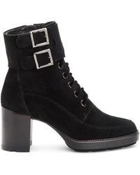 Aquatalia - Irene Suede Ankle Boots - Lyst