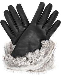 Aquatalia - Fur Trimmed Glove - Lyst