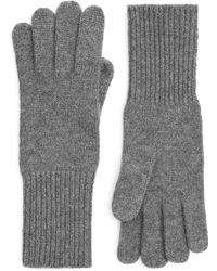 ARKET - Recycled Cashmere Gloves - Lyst