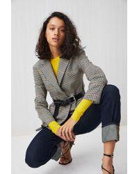 ARKET - Checked Wool Blazer - Lyst