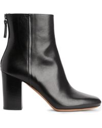 ARKET - High-heel Leather Boots - Lyst