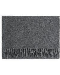 ARKET - Woven Wool Scarf - Lyst
