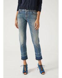 Emporio Armani - Straight Jeans - Lyst