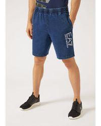 Emporio Armani - Bermuda Shorts - Lyst