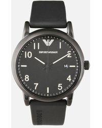 Emporio Armani - Rubber Strap Watches - Lyst