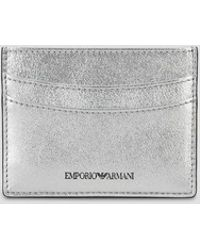 Emporio Armani - Card Holder - Lyst