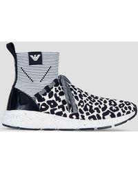 Emporio Armani - Sneakers - Lyst