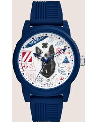 Armani Exchange - Ax Street Art Series Lesjeanclode Watch - Lyst