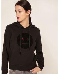 Armani Exchange - A|x Emoji Logo Hoodie - Lyst