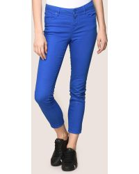 Armani Exchange - Colorful Cropped Super-skinny Jeans - Lyst