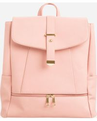 Ashley Stewart - Zip Front Backpack - Lyst