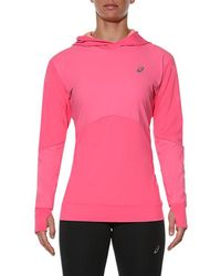 Asics - Long-sleeved Jersey Hoodie - Lyst