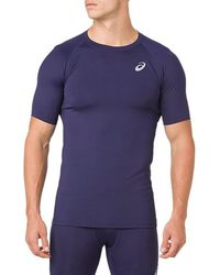 Asics - Base Layer Ss Top - Lyst