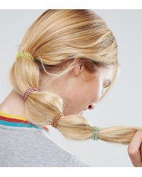 ASOS - Pack Of 4 Rainbow Hair Coils - Lyst