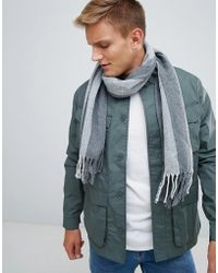 Esprit - Knitted Striped Scarf - Lyst