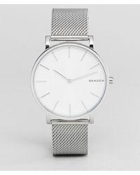 Skagen - Skw6442 Hagen Slim Mesh Watch In Silver 38mm - Lyst