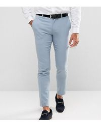 Only & Sons | Skinny Wedding Suit Trousers | Lyst