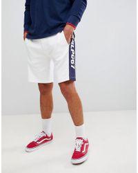 edb74af4 Tommy Hilfiger Sports Capsule Cuffed Joggers Icon Stripe Trim & Side ...