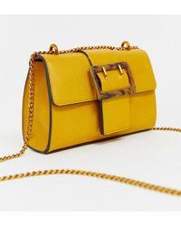 ASOS - Shoulder Bag With Tort Buckle - Lyst
