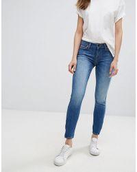 Lee Jeans - Scarlett Cropped Skinny Jean - Lyst