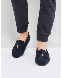 Ralph Lauren - Dezi Moccasin Slippers - Lyst