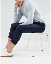 SELECTED - Tailored Trouser In Tapered Fit - Lyst