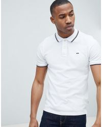 Jack & Jones - Essentials Polo Shirt With Tipping - Lyst