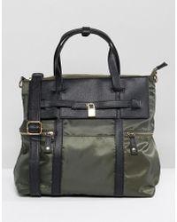 Yoki Fashion - Yoki Tote Bag With Pocket Detailing - Lyst