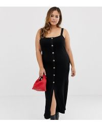 9e63657bfd ASOS Asos Design Maternity Nursing City Maxi Dress With Twist Front ...