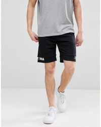 Jack & Jones - Core Jersey Shorts With Drop Layer Detail - Lyst