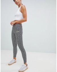 Lyst - adidas Originals Originals Farm 3 Stripe Leggings With Toucan ... c47fdfe2c1ffd
